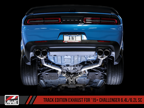 AWE (TRACK EDITION) CATBACK EXHAUST FOR 2015+ CHALLENGER 6.2/6.4