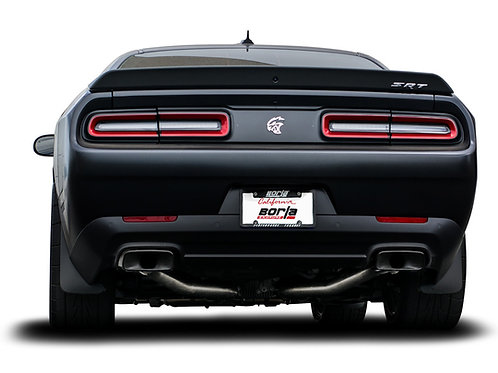 BORLA ATAK® CHALLENGER SRT HELLCAT 2015-2020 CAT-BACK™ EXHAUST W/ MDS VALVES