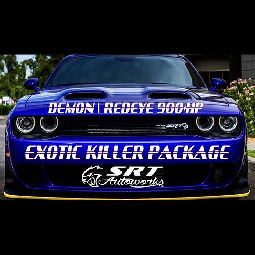 DEMON/REDEYE 900+HP EXOTIC KILLER PACKAGE