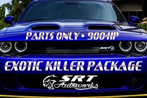 SRT AUTOWORKS 900+HP EXOTIC KILLER (PARTS ONLY)