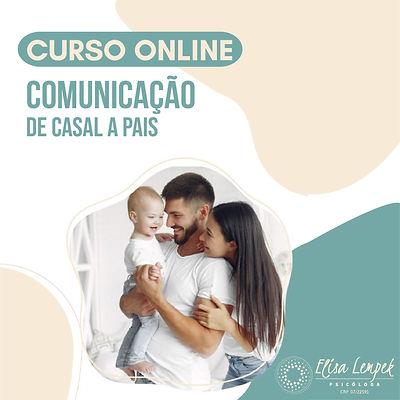 Curso online Comunicação de casal a pais