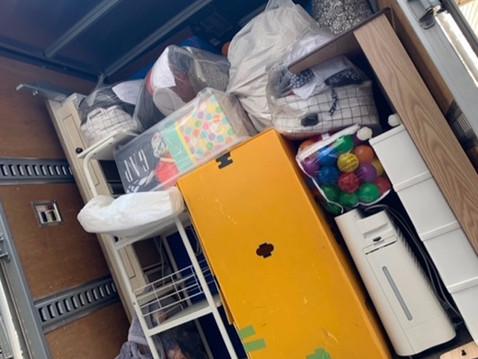 東京都北区にて不用品回収の作業でした。