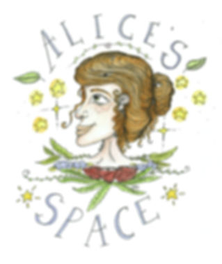 Alice's Space Ilustration