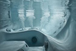 Ulkoporealtaan vesiterapia