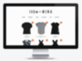 website design for childrens clothing brand