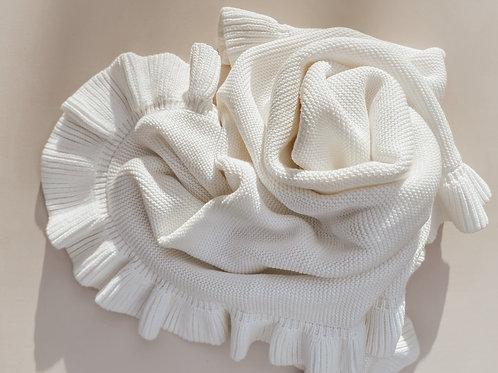 Organic Milk Frill Blanket Pre-Order