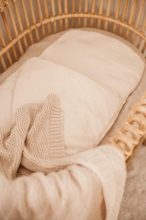 Organic Blanket & Wool Wrap Combo