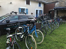 selection of bikes you can hire from us
