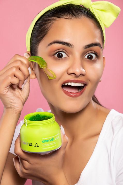 Skincare brand shoot