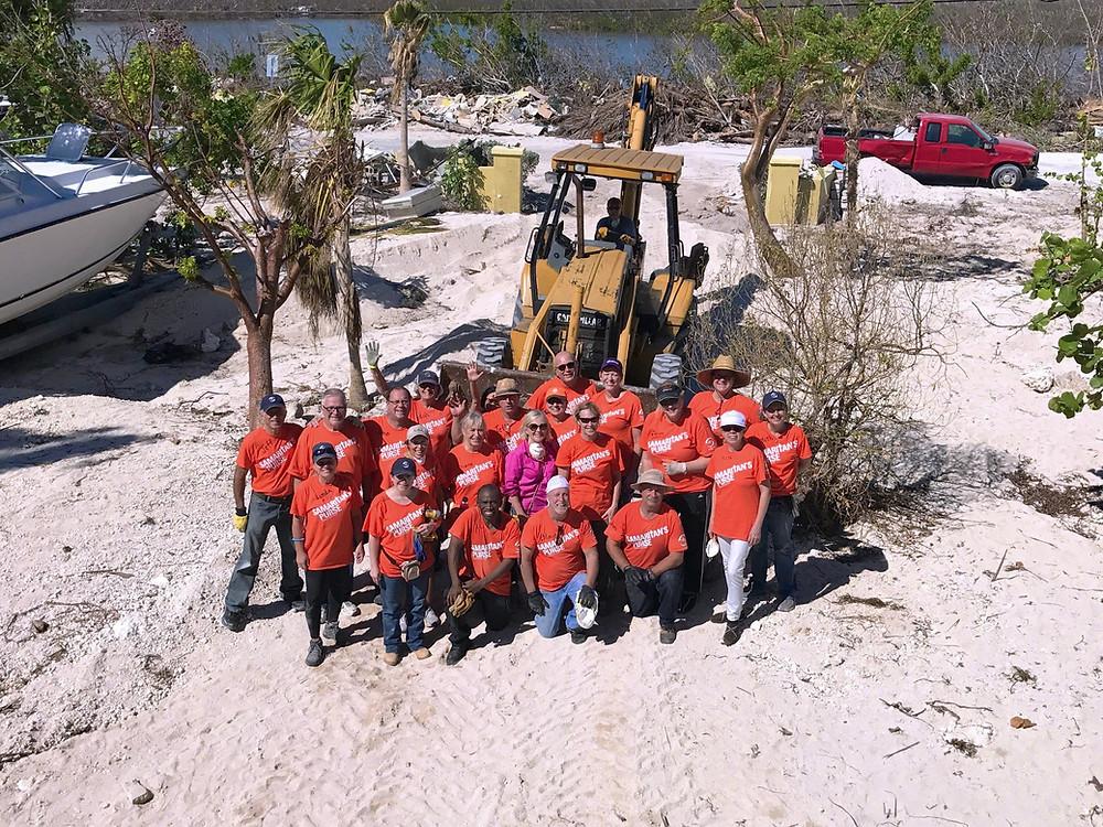 Key West, FL Samaritans Purse Cleanup Team November 2017