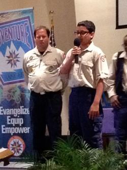 Ranger Counsel of Achievement Sunday
