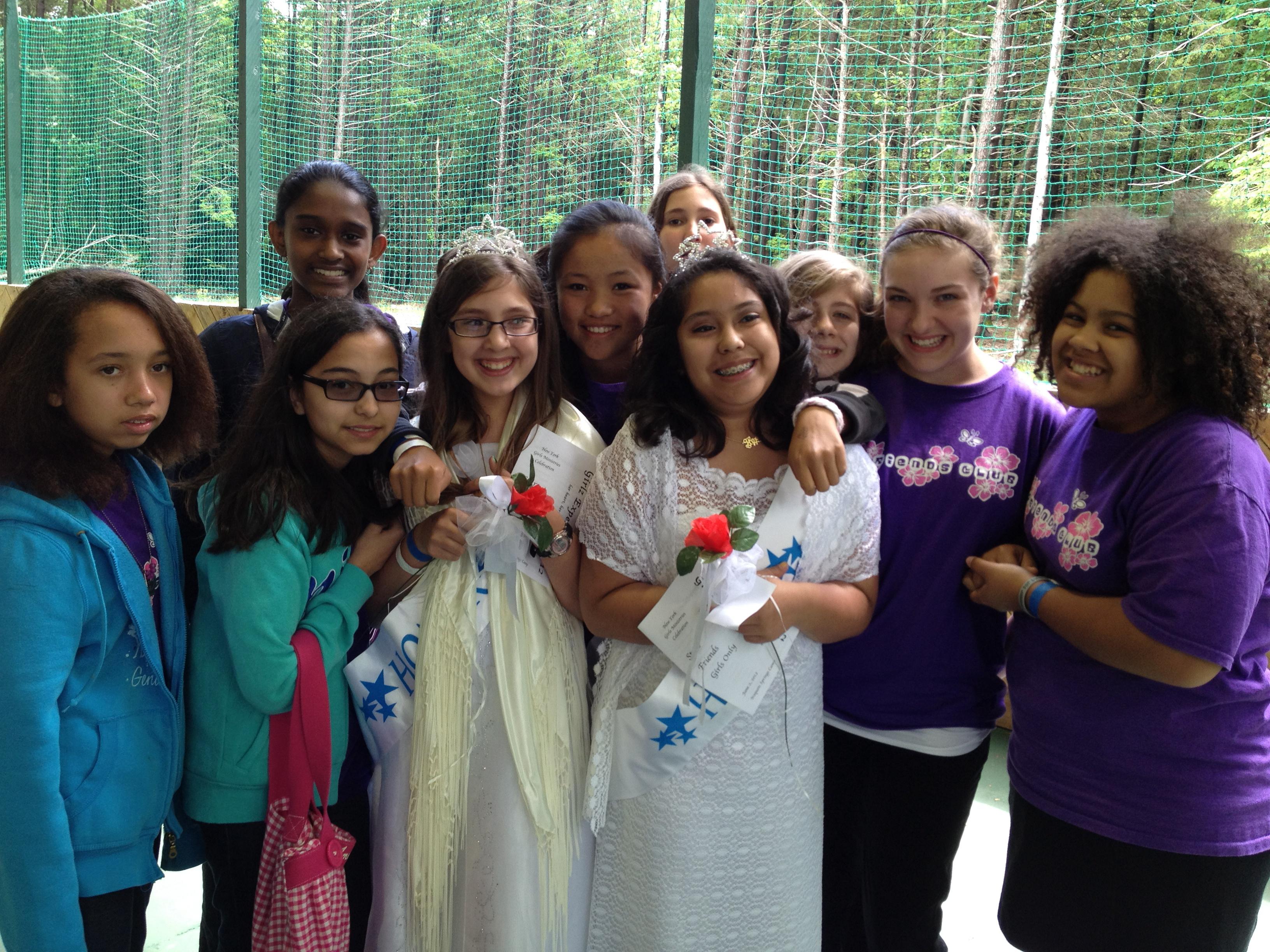Girls Experience Retreat Honor Award