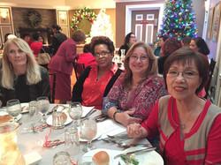 LADIES CHRISTMAS DINNER 2015