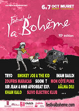 Festival de la Bohème - Flyer recto