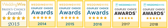 Wedding Wire Awards For As You Wish DJ Entertainment