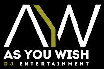 As You Wish DJ Entertainment Logo