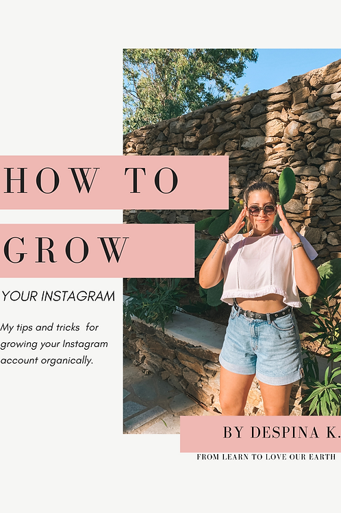 How To Grow Your Instagram Guide