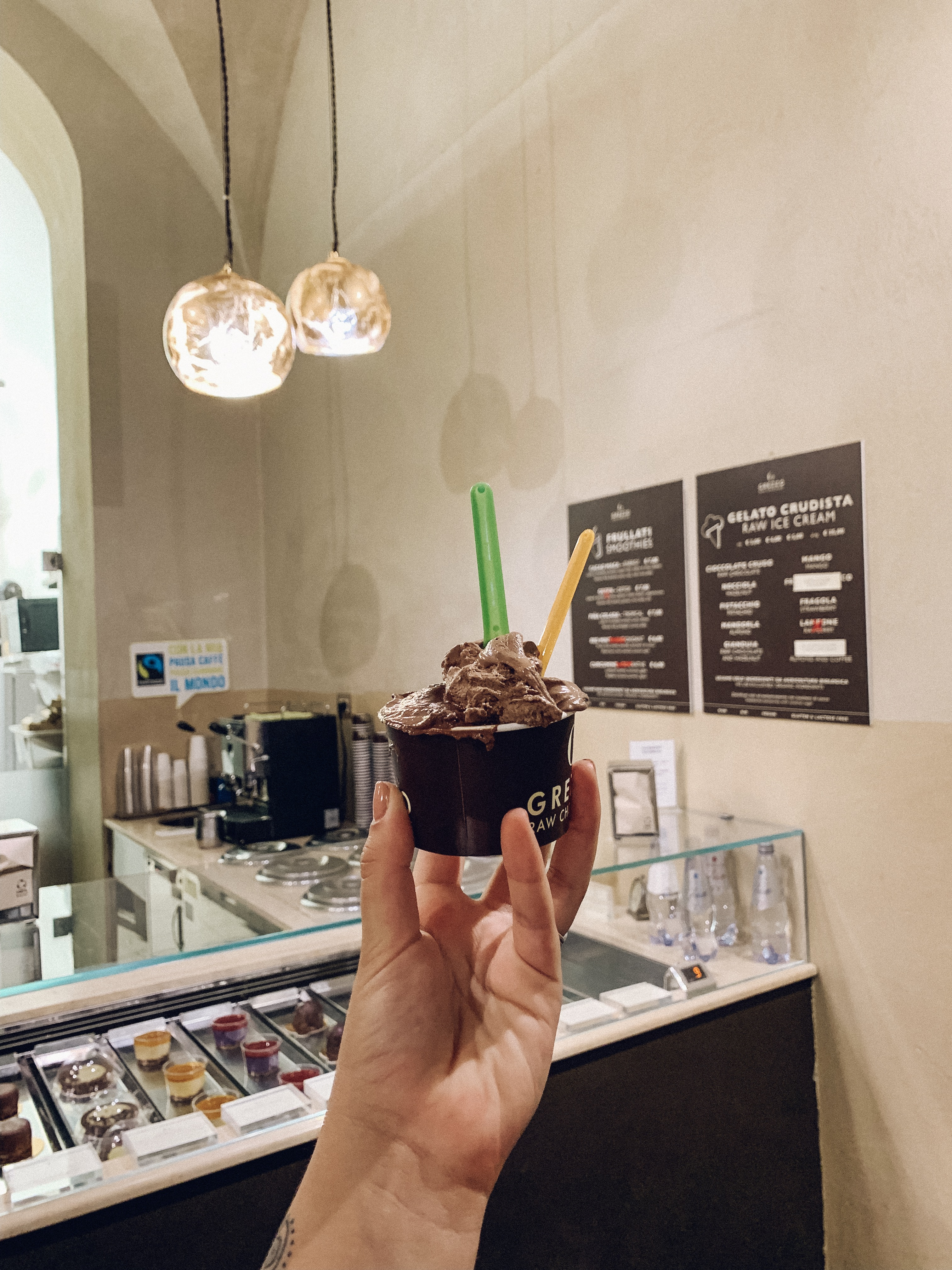 Grezzo Raw Chocolate  Ice-Cream Rome