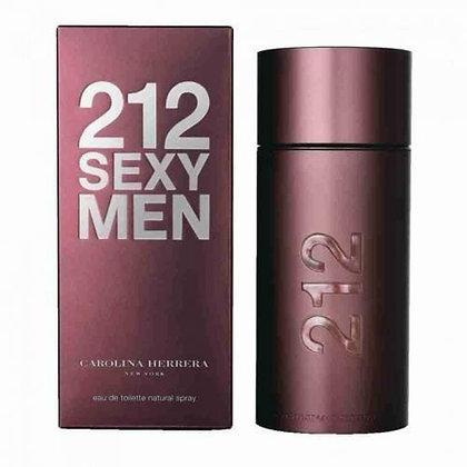 Carolina Herrera | 212 Sexy Men | E.D.T | 100ml | בושם לגבר