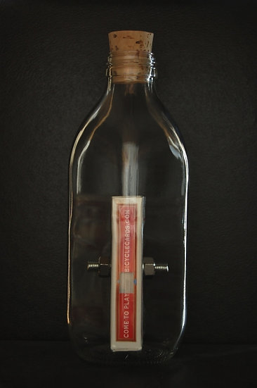 'Nerves of Steel' Impossible Bottle