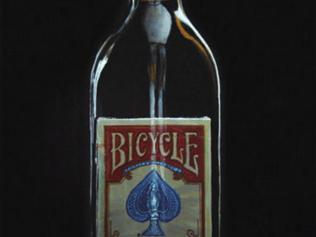 Incredible Impossible Bottle Painting