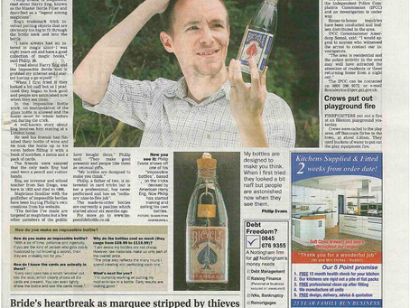 From the archives: impossible bottles in the Nottingham Post