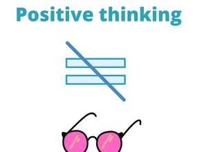 Позитивное мышление не то же самое, что видеть мир через розовые очки