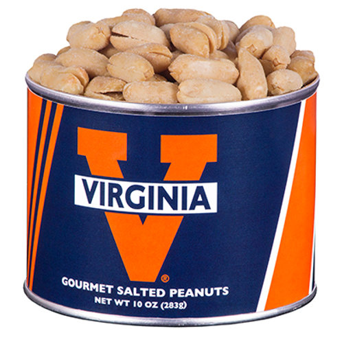 UVA Wahoo Salted Peanuts 10oz (Can)