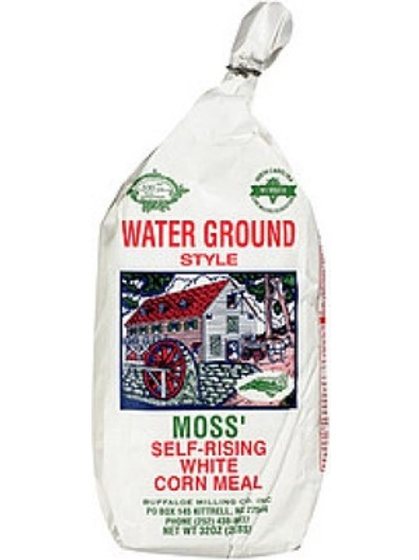 Moss' Self Rising White Cornmeal 2 lbs. (Bag)