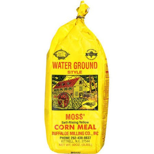 Moss' Self Rising Yellow Corn Meal 2lbs. bag (Case of 6)