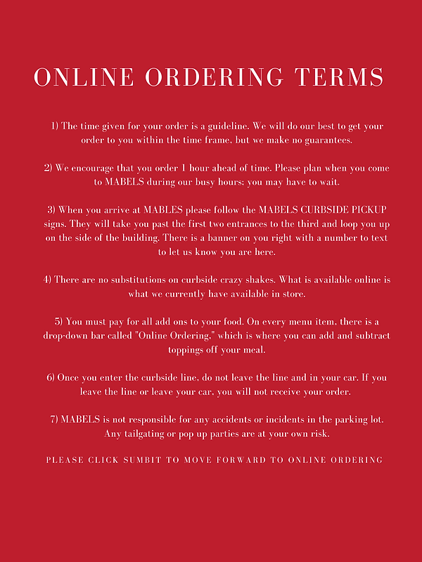 1) The time given for your order is a gu