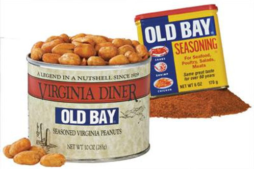 Old Bay Peanuts 10oz cans (Case of 12)