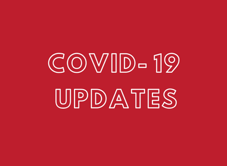 COVID-19 Updates: Updated April 8th at 7:55 pm