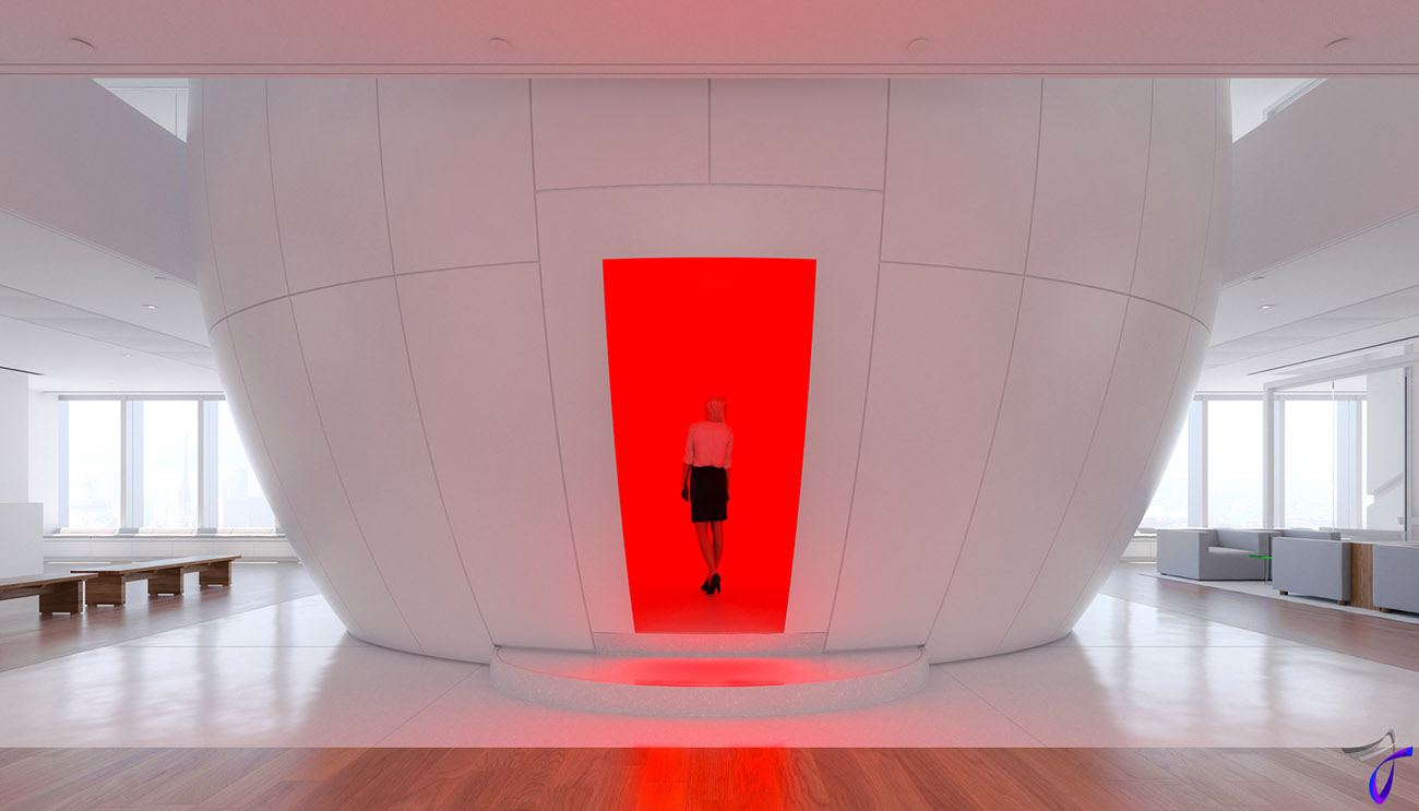James Turrell ganzfeld new york
