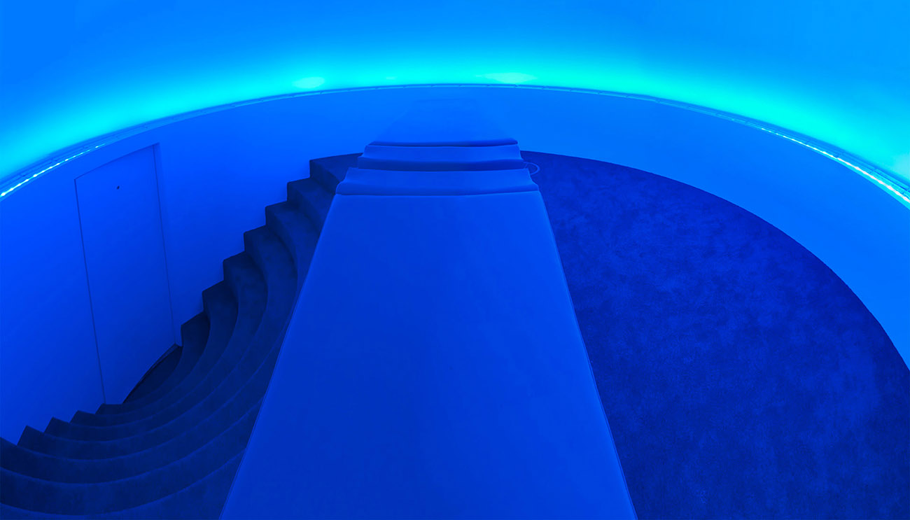 James Turrell perceptual cell KGC