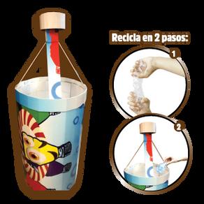 Reduce, Reutiliza y Recicla.