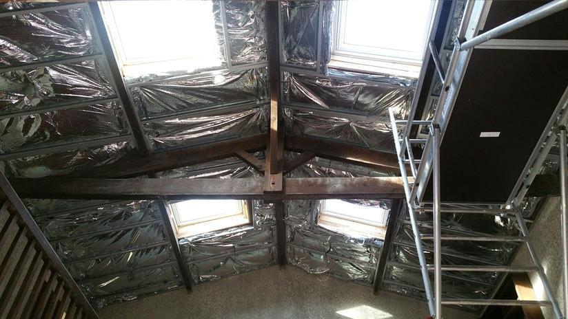 ITI - Isolation d'un plafond rampant avec un isolant mince