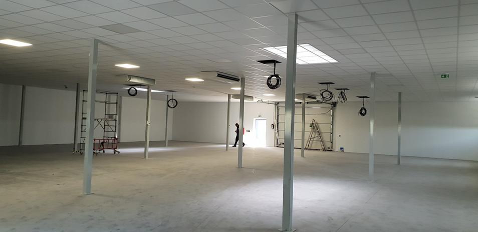 Faux plafond - Batiment industriel