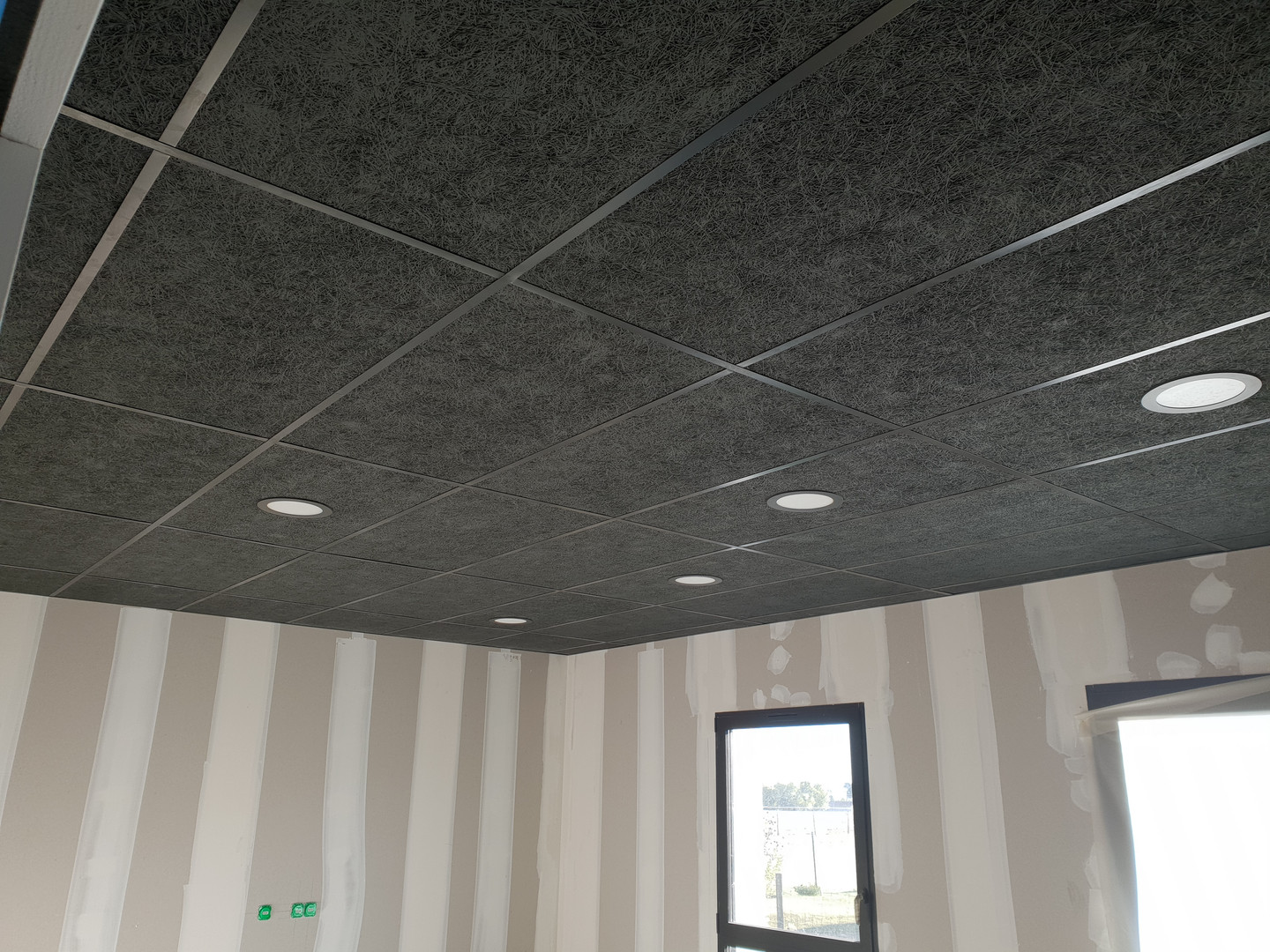 Faux plafond - Pole medical