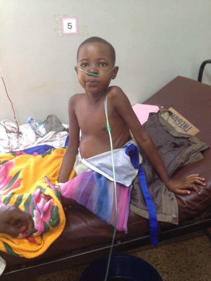 Kids with HIV in Uganda