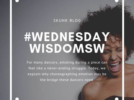 A new approach for dancers struggling with emoting.