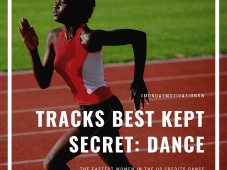 Fastest women in the US credits dance as being her secret weapon!