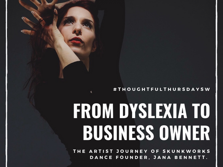 From dyslexia to starting a business, SkunkWorks Founder Jana Bennett shares her story.