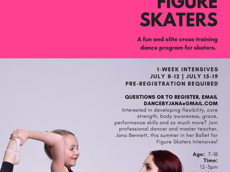 Register for our Ballet for Figure Skaters Intensives!