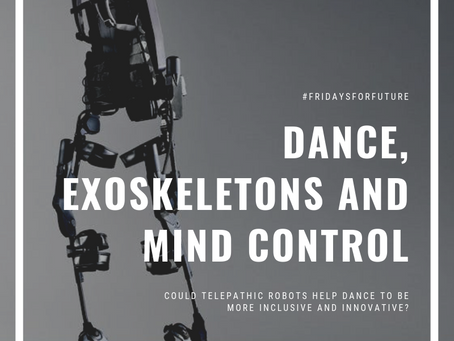 Could mind controlled exoskeletons be the future of dance?