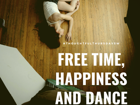 Free time, happiness and dance.