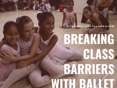 Breaking class barriers with ballet.