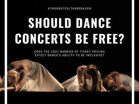 Should more dance concerts be free of charge?