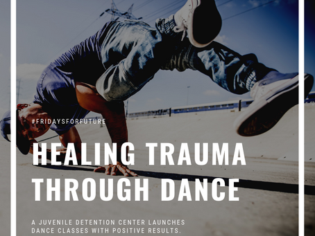How dance is playing a significant role in rehabilitation at a juvenile detention center.