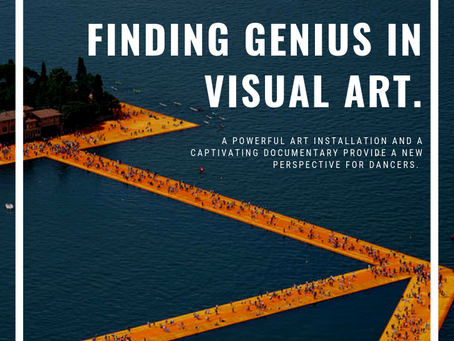 The art installation and documentary giving us a new perspective to view dance from.